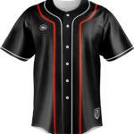เสื้อเบสบอลพิมพ์ลาย Luxury Black