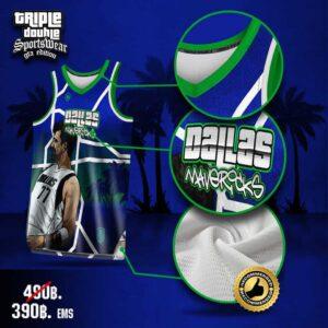 เสื้อบาส NBA Luka Doncic เสื้อบาสพิมพ์ลาย