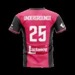 เสื้อบอลพิมพ์ลาย Pink Glorious UndergroundX Collection ด้านหน้า