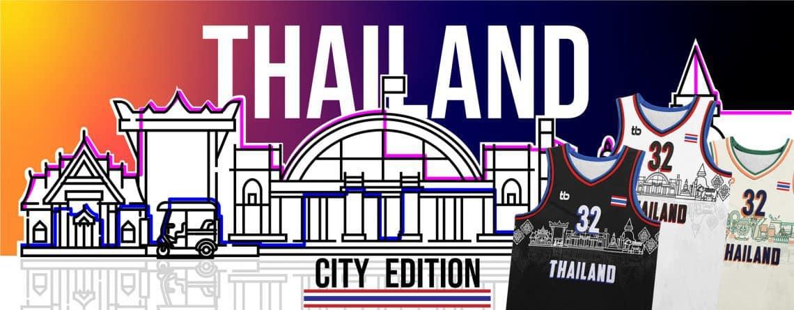 เสื้อบาสพิมพ์ลาย TB Thailand Edition - 169