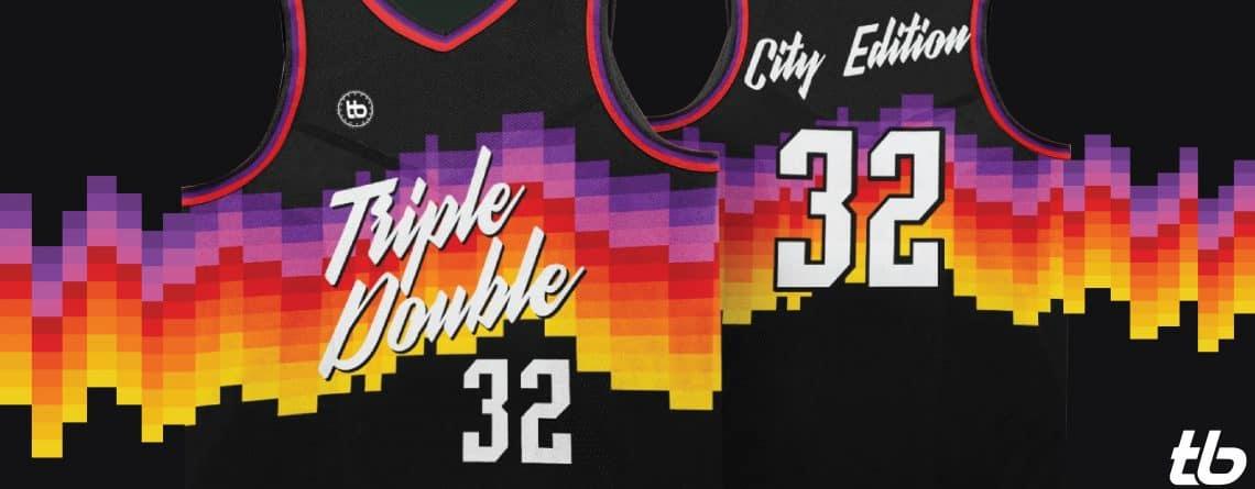 เสื้อบาส NBA Sunray City Edition
