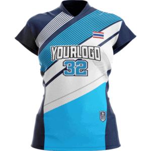 เสื้อวอลเลย์บอลพิมพ์ลาย-2