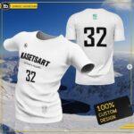 เสื้อวิ่งพิมพ์ลาย ขาว Kasetsart University